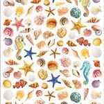 Beach Shells - Paper House Life Organized Micro Stickers