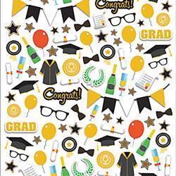Graduation - Paper House Life Organized Micro Stickers