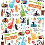 Sports Fan - Paper House Life Organized Micro Stickers