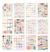 A5 Sticker Tablet - Planner Basics - Simple Stories