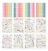 A5 Sticker Tablet - Calendar - Simple Stories (12) A5 stickers sheets, (1,138) stickers