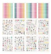 A5 Sticker Tablet - Calendar - Simple Stories - PRE ORDER