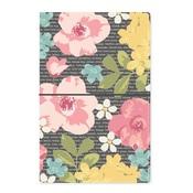 Typewriter Floral Travelers Notebook - Simple Stories