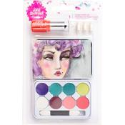 Eye Shadow Jane Davenport Mixed Media 2 - Chalk Pastels Tin