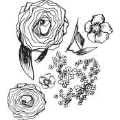 Build A Bouquet Jane Davenport Clear Stamps - PRE ORDER