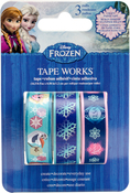 "Frozen Tape .5""X16.5' 3/Pkg"