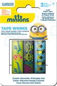 """Minions Tape .5""""X16.5' 3/Pkg"""