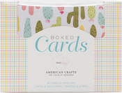 """Dear Lizzy Happy Place - American Crafts A2 Cards W/Envelopes (4.375""""X5.75"""") 40/Box"""