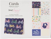 "Dear Lizzy Star Gazer - American Crafts A2 Cards W/Envelopes (4.375""X5.75"") 40/Box"