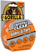 "Clear - Gorilla Crystal Clear Tape 1.88""X27'"