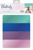 Mirror, 4 Colors - Sara Davies Signature Luxury Cardstock A4 28/Pkg