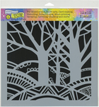 """Tree Paradise - Crafter's Workshop Template 12""""X12"""""""