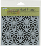 """Tuscan Floral - Crafter's Workshop Template 6""""X6"""""""