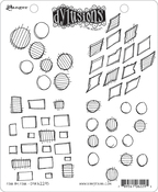 """Four By Four - Dyan Reaveley's Dylusions Cling Stamp Collections 8.5""""X7"""""""