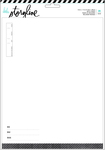 "Heidi Swapp Storyline 2 Refill Pack 8.5""X11"""