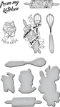 Kitchen Collection - Spellbinders Stamp & Die Set