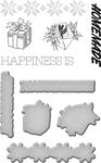 Happiness - Spellbinders Stamp & Die Set