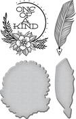 One Of A Kind - Spellbinders Stamp & Die Set
