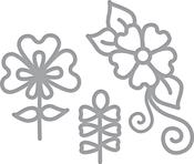 Dainty Florals - Spellbinders Shapeabilities Die D-Lites