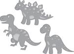 Dinosaurs - Spellbinders Shapeabilities Die D-Lites
