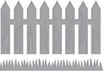 Picket Fence - Spellbinders Shapeabilities Die D-Lites