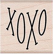"XOXO - Hero Arts Mounted Rubber Stamp 1.125""X1.125"""