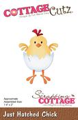 """Just Hatched Chick 1.4""""X2"""" - CottageCutz Die"""