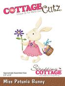 "Miss Petunia Bunny 2.2""X2.5"" - CottageCutz Die"