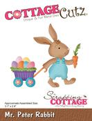 """Mr Peter Rabbit 3.1""""X2.8"""" - CottageCutz Die"""