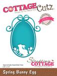 "Spring Bunny Egg 2.9""X3.5"" - CottageCutz Elites Die"