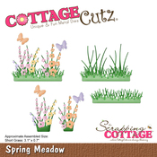 "Spring Meadow 3.1""X.7"" - CottageCutz Die"