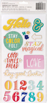 Phrases Stay Colorful Thickers - Dear Lizzy