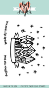 "Dazzling - Neat & Tangled Clear Stamps 3""X4"""