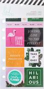 Fresh Start, Tropical - Heidi Swapp Memory Planner Cardstock Stickers