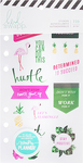 Fresh Start, Tropical - Heidi Swapp Memory Planner Clear Stickers