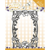 Spring Flower Rectangle Frame - Find It Trading Precious Marieke Early Spring Die