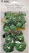 Bottle Green - 49 And Market Botanical Potpourri Flowers 49/Pkg