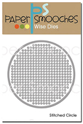 Stitched Circle - Paper Smooches Dies