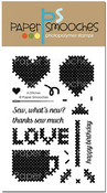 """In Stitches - Paper Smooches Clear Stamps 4""""X6"""""""