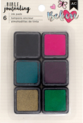 Assorted Colors - American Crafts Bible Journaling Ink Pads 6/Pkg