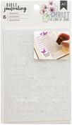 "Anchor - American Crafts Bible Journaling Stencils 4""X6.5"" 6/Pkg"