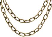 """Brass 18"""" - Tim Holtz Assemblage Metal Chain"""
