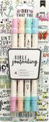 Pastels - American Crafts Bible Journaling Dual Tip Markers 4/Pkg