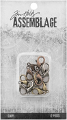 Assorted Lobster Claws - Tim Holtz Assemblage Clasps 12/Pkg
