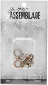 Small Toggles - Tim Holtz Assemblage Clasps 6/Pkg