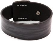 Distressed Black W/Snap Enclosure - Tim Holtz Assemblage Cuff Bracelet
