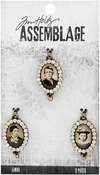 Jeweled Photo - Tim Holtz Assemblage Links 3/Pkg