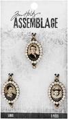 Jeweled Photo - Tim Holtz Assemblage Links 3/Pkg