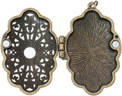 Jeweled Baroque - Tim Holtz Assemblage Locket