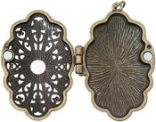Jeweled Baroque - Tim Holtz Assemblage Locket